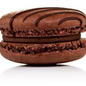 Chocolate Molten Macaron Singapore